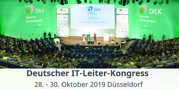 Deutscher IT-Leiter-Kongress 2019 in Düsseldorf (Early-Bird) #DILK #DILK2019